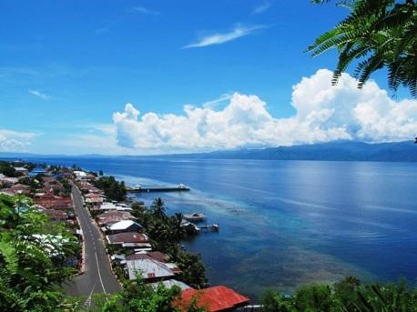 Kota Tidore. the landscape is beyond beauty! (dok. Rabby)