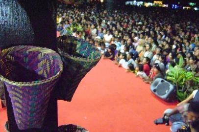 Jembatan Nusantara, hiburan untuk ribuan masyarakat Tobelo.