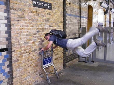 Platform 9 3/4, King's Cross, London