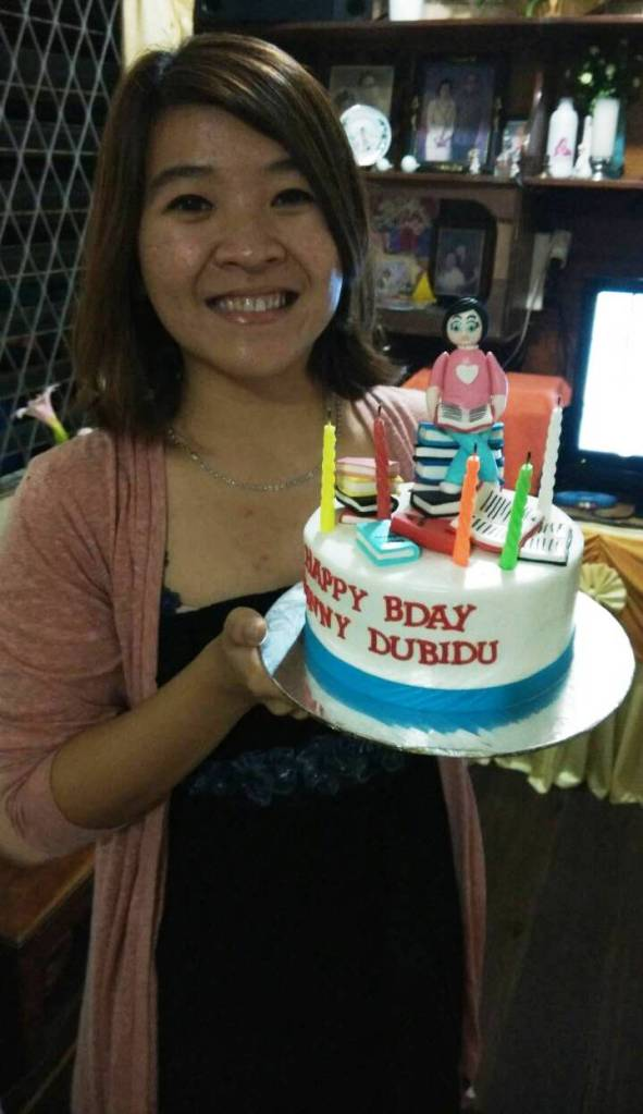 Dubidu on Cake