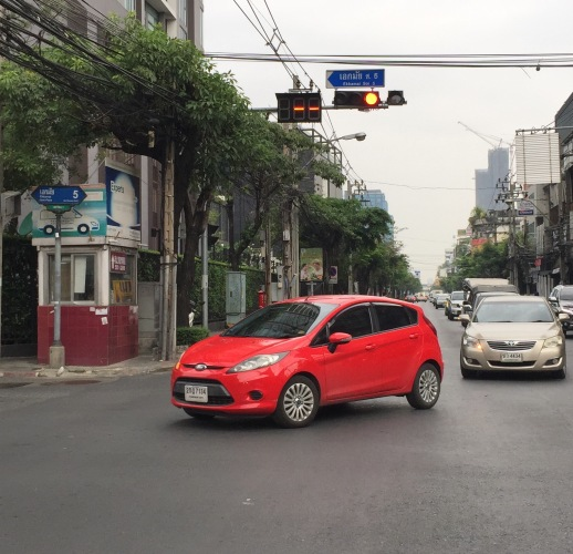 First Day in Bangkok