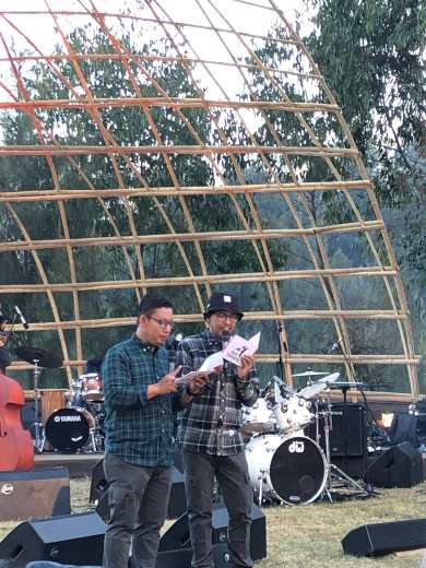 MC Duo Jazz Gunung, Alit dan Gundi